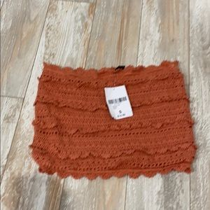 NWT forever 21 crochet tube top size small